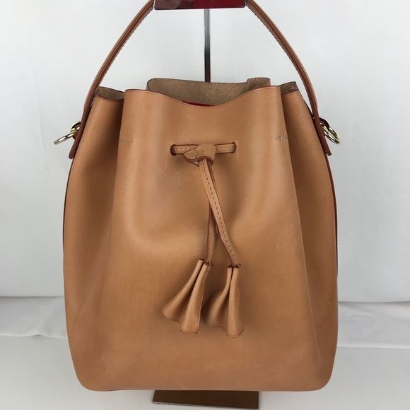 b1cc07d71d39 Celine Lefebure Handbags - Celine Lefebure Karin Natural Leather Bucket Bag